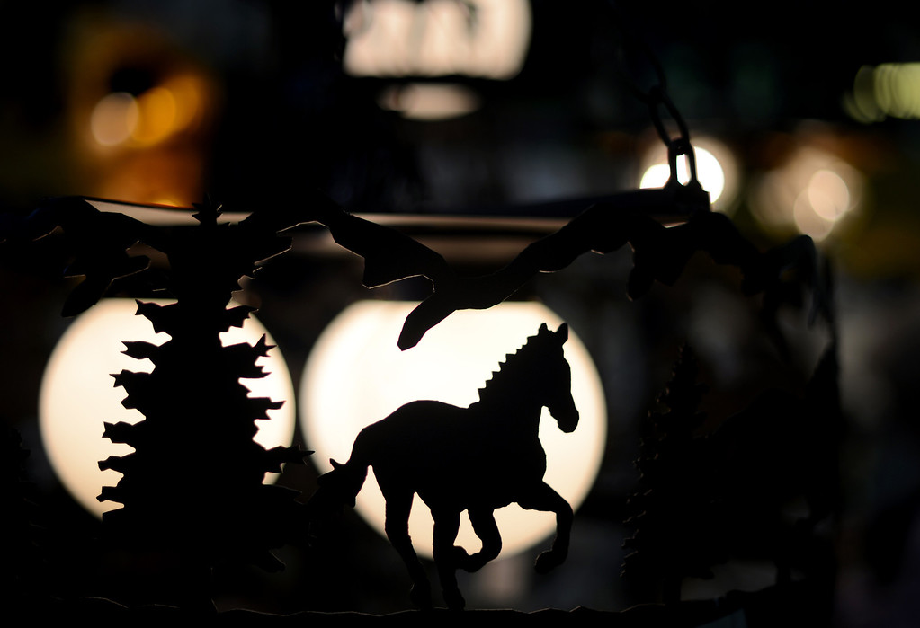 . Lamps from Allway Mfg. is displayed at Expo Hall of 2013 National Western Stock Show on Tuesday. Denver. CO, January 15, 2013.  Hyoung Chang, The Denver Post