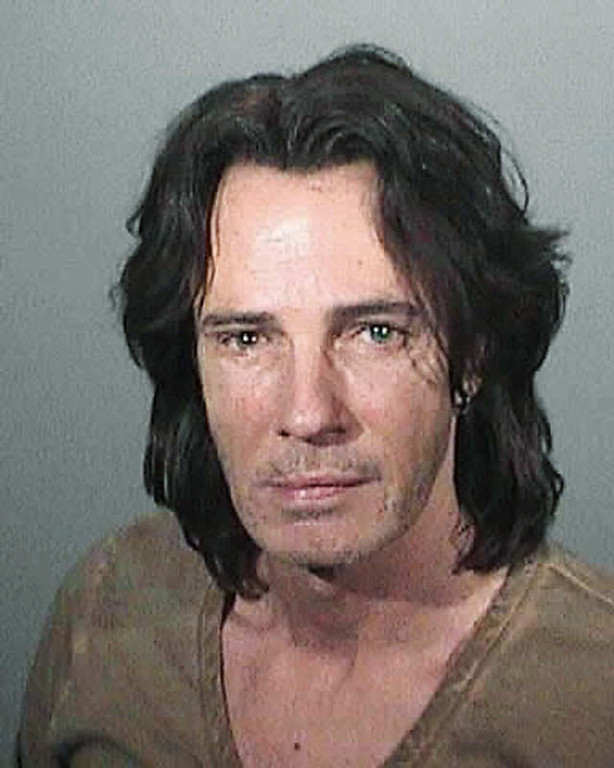 . In this police booking mug provided by the Los Angeles County Sheriff\'s Department on Monday, May 2, 2011, entertainer Rick Springfield is shown after his arrest on suspicion of driving under the influence, in Malibu, Calif., on Sunday, May 1, 2011.  The singer was released early Monday and is due in a courtroom in Malibu for a first appearance on July 5. (AP Photo/LA County Sheriff)