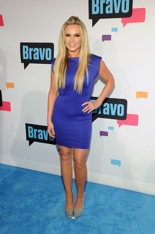 . Tamra Barney attends the 2013 Bravo New York Upfront at Pillars 37 Studios on April 3, 2013 in New York City.  (Photo by Craig Barritt/Getty Images)