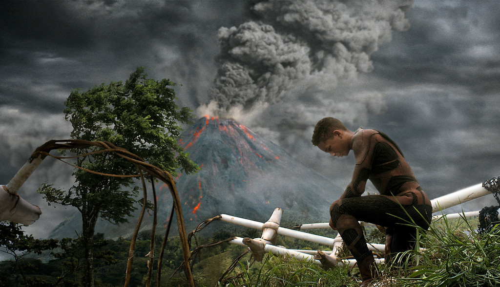 ". Jaden Smith stars in Columbia Pictures\' ""After Earth,\"" also starring Will Smith. Courtesy of Columbia Pictures."