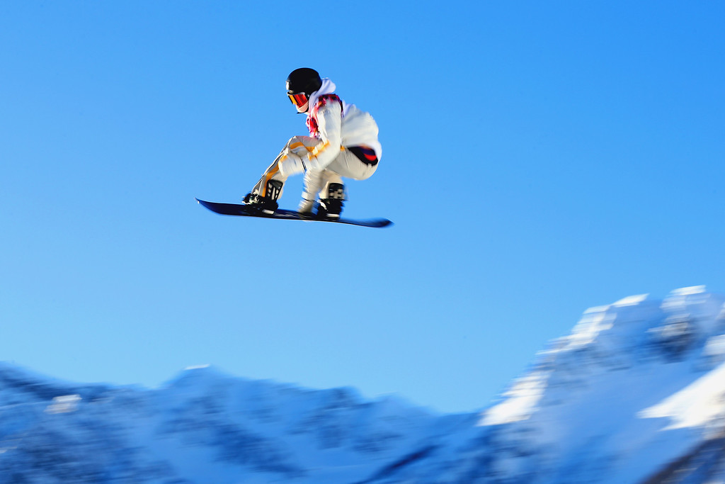 . Niklas Mattsson of Sweden competes in the Men\'s Slopestyle Qualification during the Sochi 2014 Winter Olympics at Rosa Khutor Extreme Park on February 6, 2014 in Sochi, Russia.  (Photo by Cameron Spencer/Getty Images)