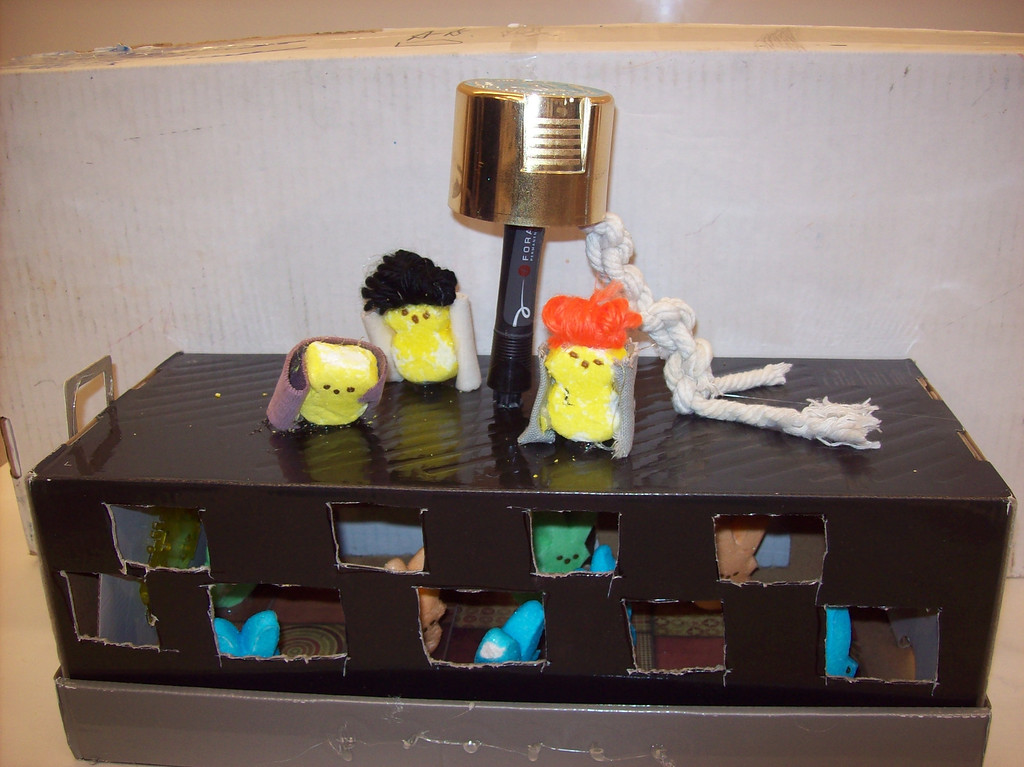 . Entry for the Children\'s Peeps contest, we are 10, and 11. Braden Kraft, Daryus Jackson