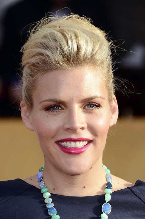 . Actress Busy Philipps arrives at the 19th Annual Screen Actors Guild Awards held at The Shrine Auditorium on January 27, 2013 in Los Angeles, California.  (Photo by Frazer Harrison/Getty Images)