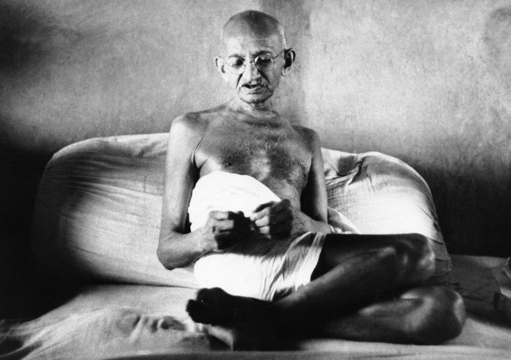 . Mohandas Gandhi of All India Congress on August 22, 1942. (AP Photo)