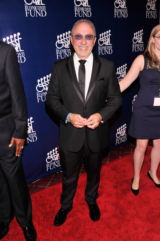 . Producer Emilio Estefan attends the 28th Annual Great Sports Legends Dinner to Benefit The Buoniconti Fund To Cure Paralysis at The Waldorf Astoria on September 30, 2013 in New York City.  (Photo by Stephen Lovekin/Getty Images for The Buoniconti Fund To Cure Paralysis)