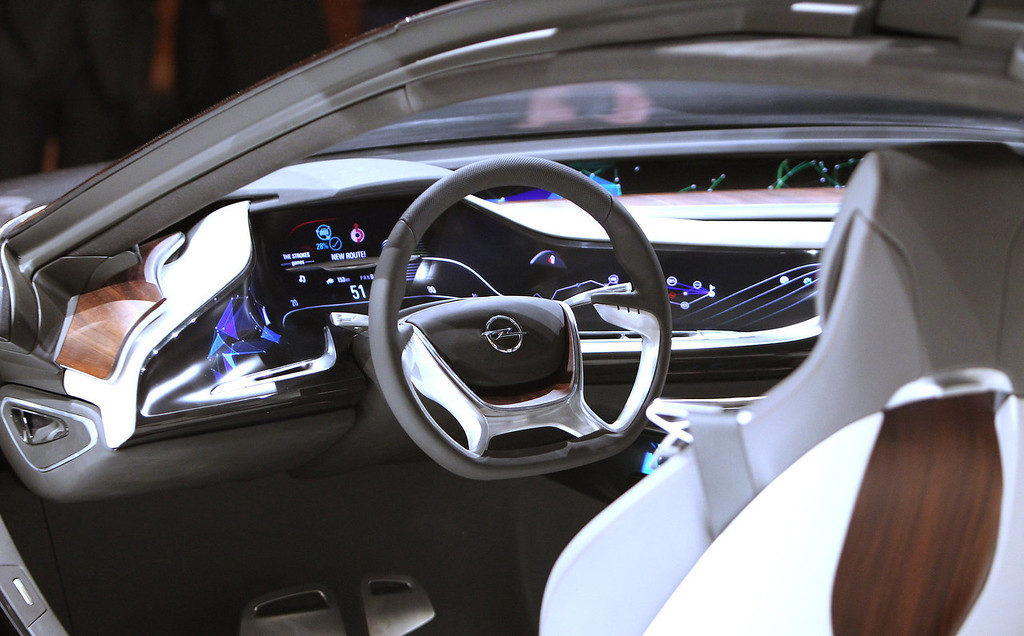 . The new Opel Monza Concept is presented at the IAA auto show in Frankfurt am Main, central Germany, on September 9, 2013. The world\'s automobile makers are counting on the IAA auto show, which opens in Frankfurt this week, to give the sector a boost as recovery signs are becoming increasingly discernible in Europe.   DANIEL ROLAND/AFP/Getty Images