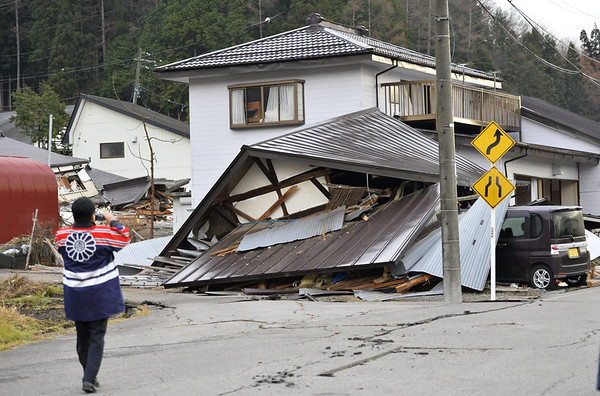 PHOTOS: A magnitude-6.8 earthquake struck near Nagano, Japan