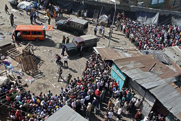 PHOTOS: 10 dead after bombs explode in market, Nairobi, Kenya