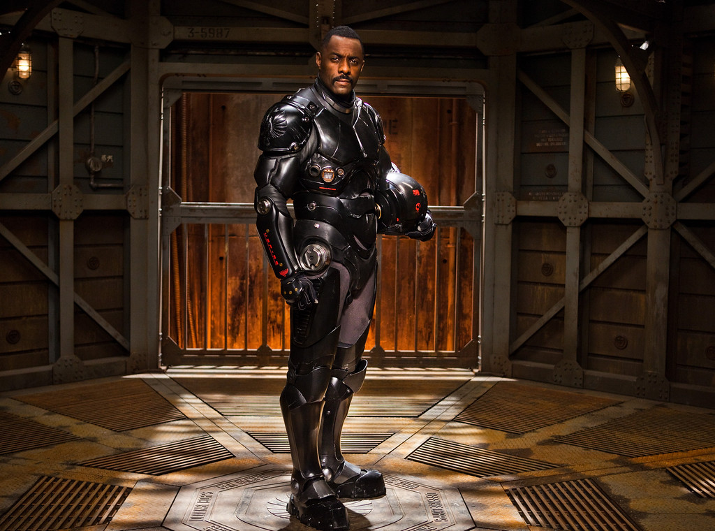 ". IDRIS ELBA as Stacker Pentecost in Warner Bros. Pictures and Legendary Pictures� sci-fi action adventure ""PACIFIC RIM,\"" a Warner Bros. Pictures release."