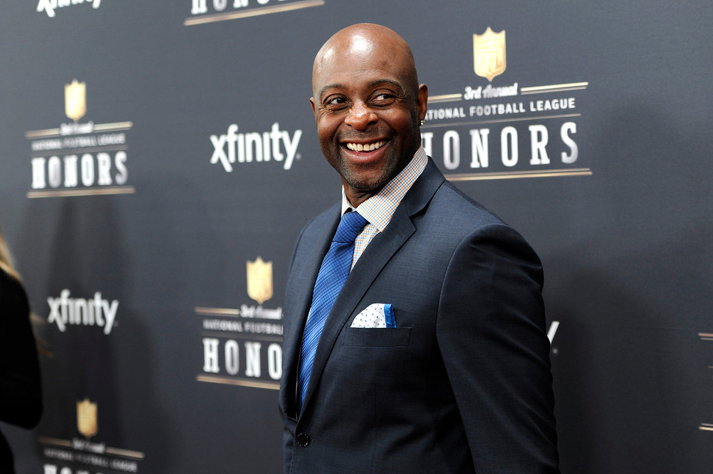 . Former NFL player Jerry Rice arrives at the third annual NFL Honors at Radio City Music Hall on Saturday, Feb. 1, 2014, in New York. (Photo by Evan Agostini/Invision for NFL/AP Images)