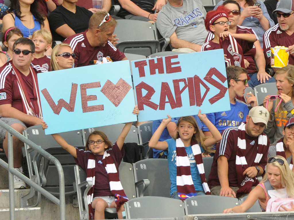 . COMMERCE CITY, CO. - JULY 27:  The Colorado Rapids defeated the Los Angeles Galaxy 2-0 Saturday, July 27, 2013.  Photo By Karl Gehring/The Denver Post