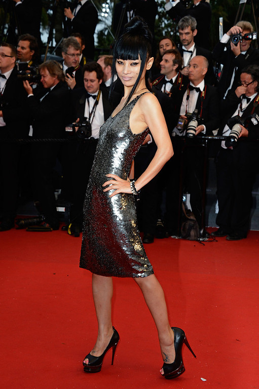 . Bai Ling attends the Opening Ceremony and \'The Great Gatsby\' Premiere during the 66th Annual Cannes Film Festival at the Theatre Lumiere on May 15, 2013 in Cannes, France.  (Photo by Pascal Le Segretain/Getty Images)