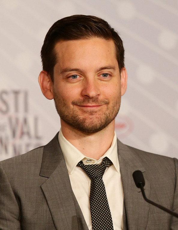 . Actor Tobey Maguire attends the \'The Great Gatsby\' Press Conference during the 66th Annual Cannes Film Festival at the Palais des Festivals on May 15, 2013 in Cannes, France.  (Photo by Vittorio Zunino Celotto/Getty Images)