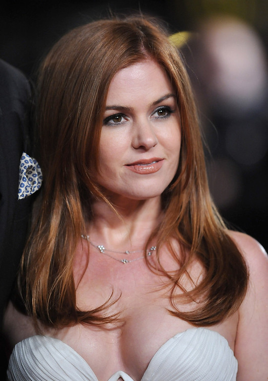 ". Actress Isla Fisher attends the ""Les Miserables\"" World Premiere at the Odeon Leicester Square on December 5, 2012 in London, England.  (Photo by Stuart Wilson/Getty Images)"