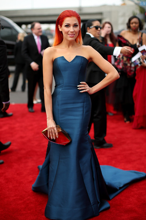 . Singer Bonnie McKee attends the 56th GRAMMY Awards at Staples Center on January 26, 2014 in Los Angeles, California.  (Photo by Christopher Polk/Getty Images for NARAS)