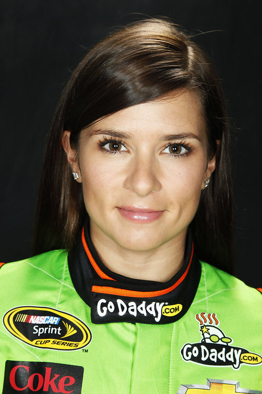 . Driver Danica Patrick poses during portraits for the 2013 NASCAR Sprint Cup Series at Daytona International Speedway on February 14, 2013 in Daytona Beach, Florida.  (Photo by Nick Laham/Getty Images)