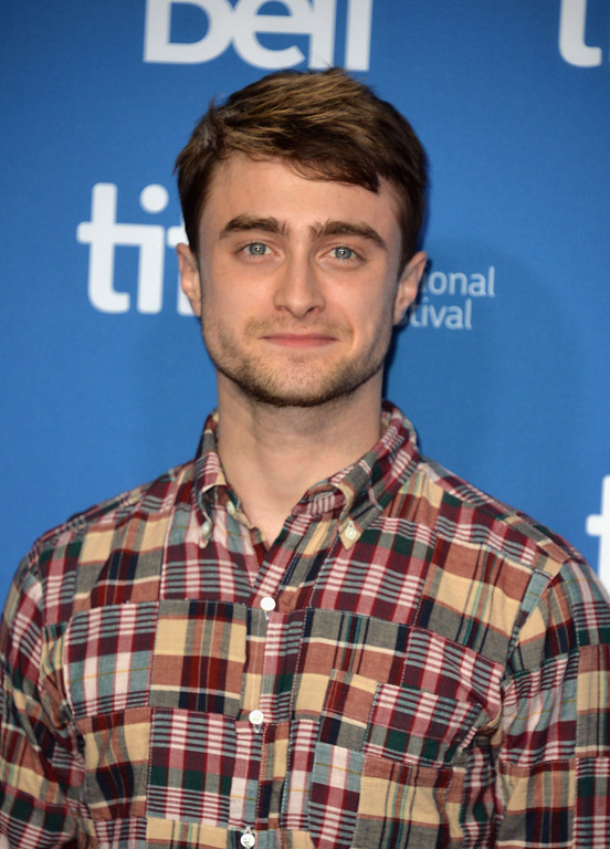 ". Actor Daniel Radcliffe attends ""The F Word\"" Press Conference during the 2013 Toronto International Film Festival at TIFF Bell Lightbox on September 8, 2013 in Toronto, Canada.  (Photo by Alberto E. Rodriguez/Getty Images)"