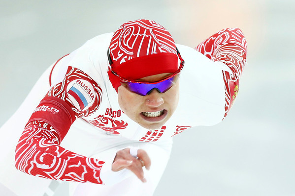 PHOTOS: Speed Skating at Sochi Winter Olympics, Feb. 13, 2014