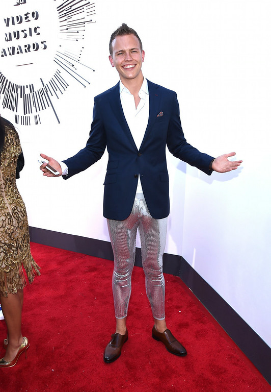 . Internet personality Jerome Jarre attends the 2014 MTV Video Music Awards at The Forum on August 24, 2014 in Inglewood, California.  (Photo by Larry Busacca/Getty Images for MTV)