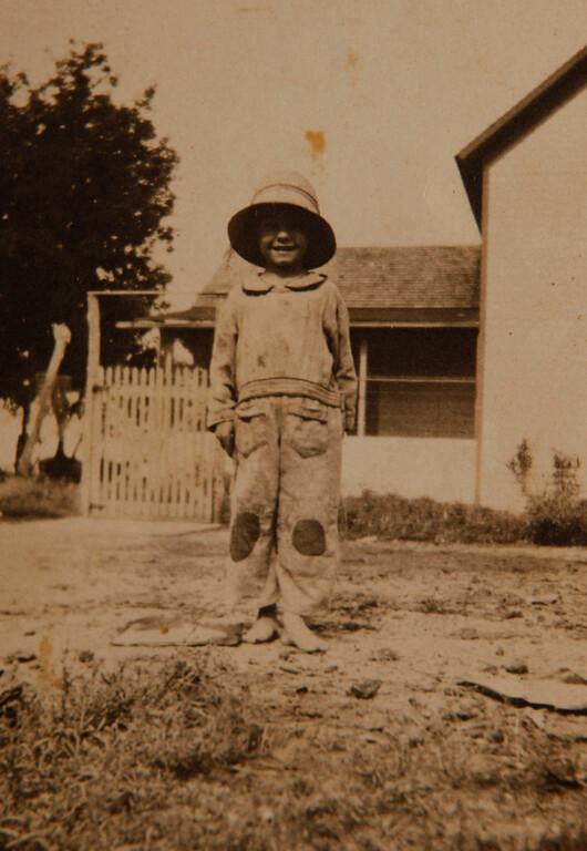 . Emil Kapaun is seen at age 6.  (Courtesy of Helen Kapaun/Wichita Eagle/MCT)
