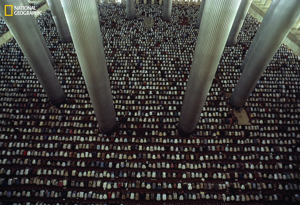 . 20884 CHARLES O�REAR / National Geographic Istiqlal Mosque, Jakarta, 2013 Christie�s Auction: TIMELESS: NATIONAL GEOGRAPHIC AS CELEBRATED BY TASCHEN BOOKS www.christies.com/natgeo