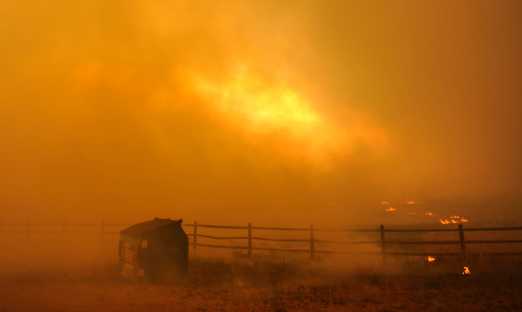 . The Waldo Canyon Fire continued to grow, charging out of the foothills and into Colorado Springs subdivisions on Tuesday, June 26, 2012. RJ Sangosti, The Denver Post