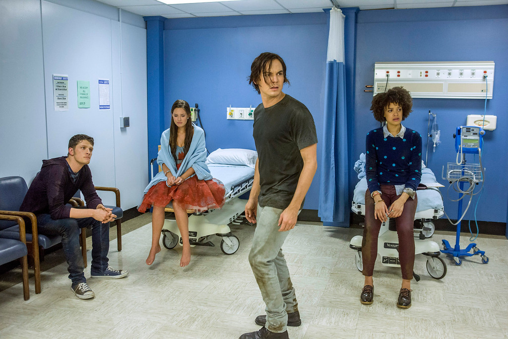 ". RAVENSWOOD - ""Death and the Maiden\"" - Caleb struggles in the aftermath of what happened at the Ravenswood Homecoming Parade in \""Death and the Maiden,\"" an all new episode of ABC Family\'s original series \""Ravenswood,\"" airing Tuesday, October 29th (8:00 - 9:00 PM ET/PT). (ABC FAMILY/Skip Bolen)"
