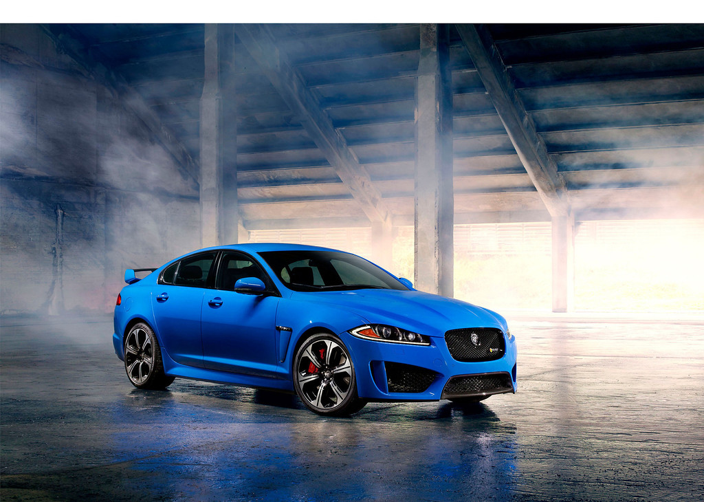 . The 2014 Jaguar XFR-S Sedan Unveiled Today At The 2012 Los Angeles Auto Show.  (PRNewsFoto/Jaguar)