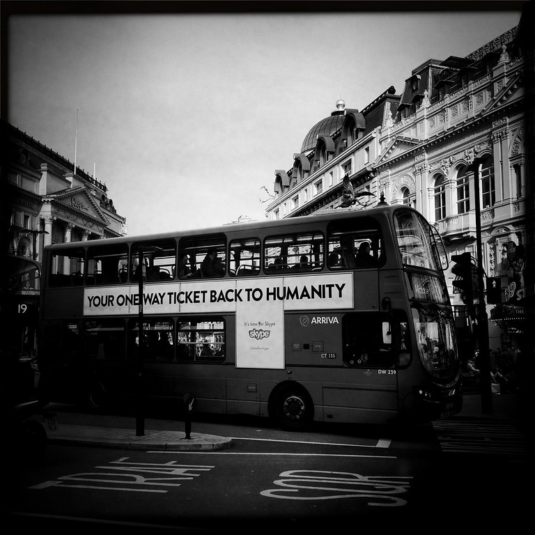 . A bus on April 30, 2012 in London, England.  (Photo by Vittorio Zunino Celotto/Getty Images)