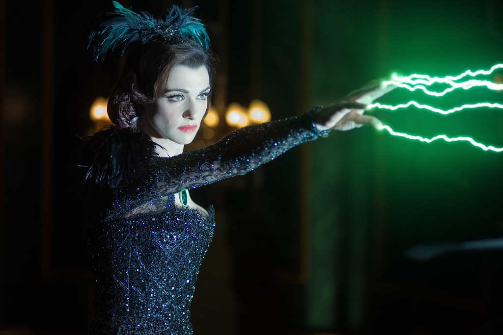 """. \""""OZ: THE GREAT AND POWERFUL\"""" Rachel Weiss Ph: Merie Weismiller Wallace, SMPSP ©Disney Enterprises, Inc. All Rights Reserved."""