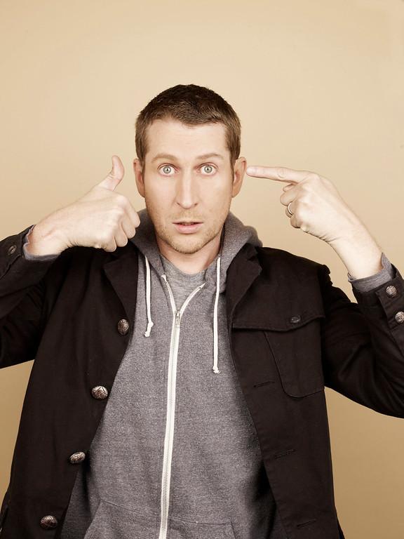 ". Scott Aukerman stars in IFC\'s \""Comedy Bang! Bang!\""  (IFC Photo)"