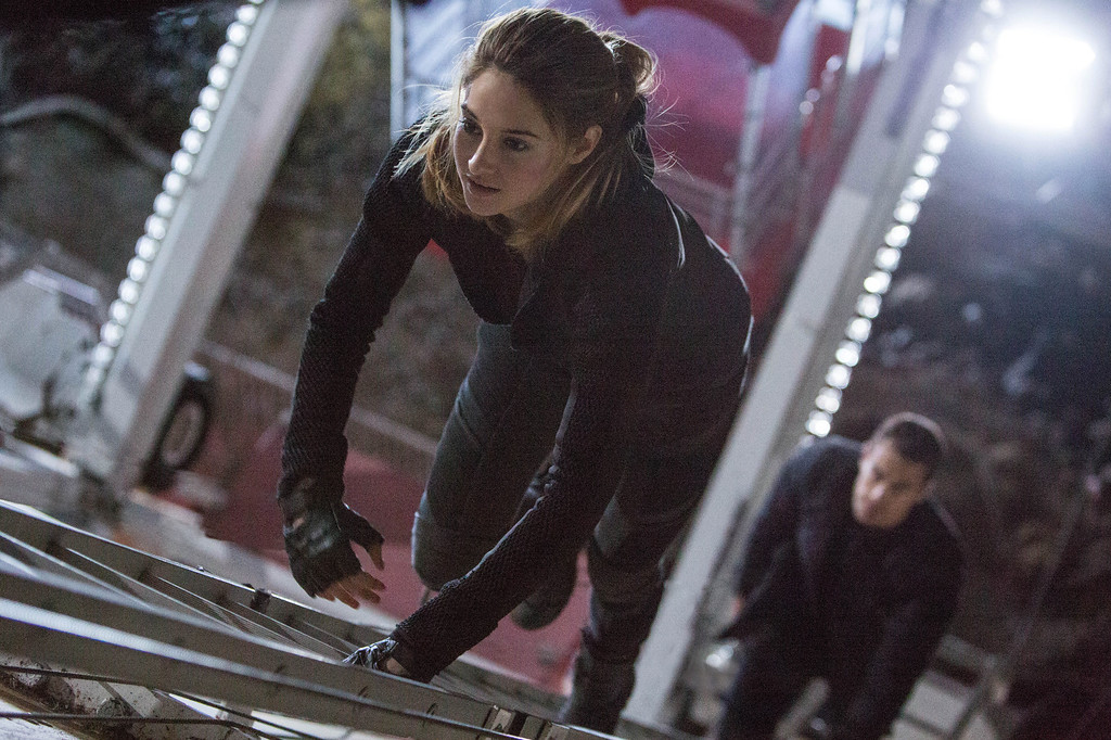 . SHAILENE WOODLEY and THEO JAMES star in DIVERGENT