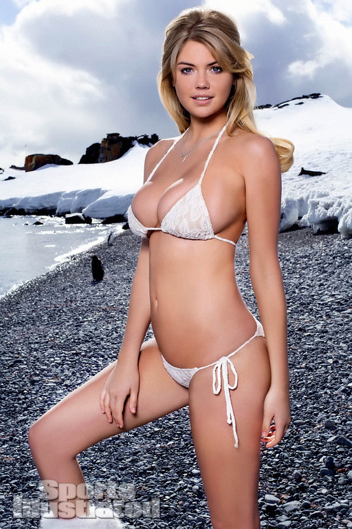 . This image provided by Sports Illustrated shows a page of the magazine\'s 2013 Swimsuit Edition featuring Kate Upton, which is on sale now, Monday, Feb. 11, 2013, across multiple platforms. (AP Photo/Sports Illustrated, Derek Kettela)