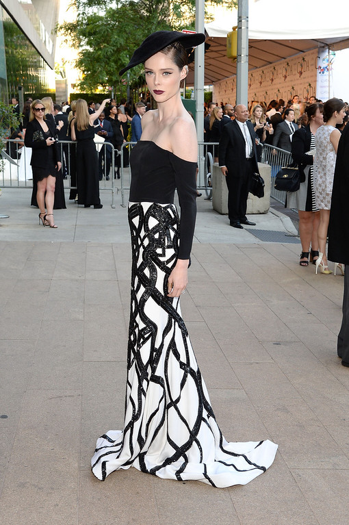 . Model Coco Rocha attends the 2014 CFDA fashion awards at Alice Tully Hall, Lincoln Center on June 2, 2014 in New York City.  (Photo by Mike Coppola/Getty Images)