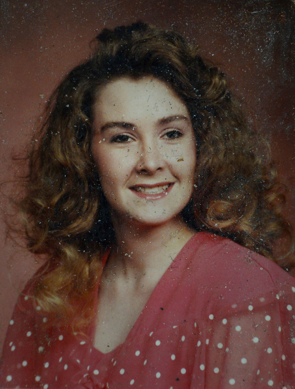 . This is a photograph of Sylvia Crowell, one of the victims of the Chuck E. Cheese shootings in 1993. A hearing was held today to set a date for the execution of convicted murderer Nathan Dunlap at the Arapahoe County Court in Division court room 408  in Centennial, CO on May 1, 2013.   Judge William Sylvester is the presiding judge on the case.  (Photo by Helen H. Richardson/The Denver Post)