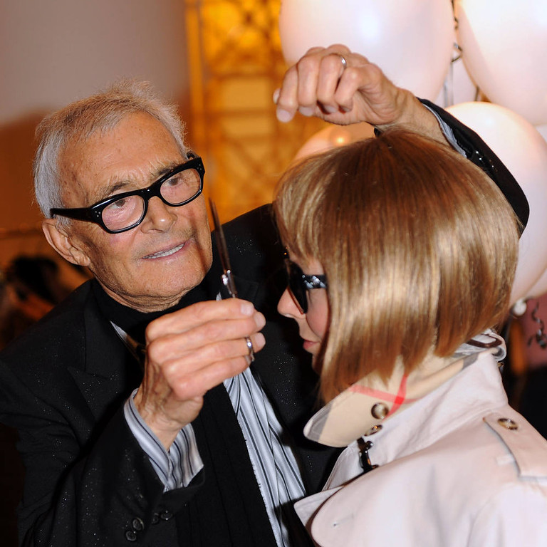 . Vidal Sassoon.  (Photo by Ian Gavan/Getty Images)