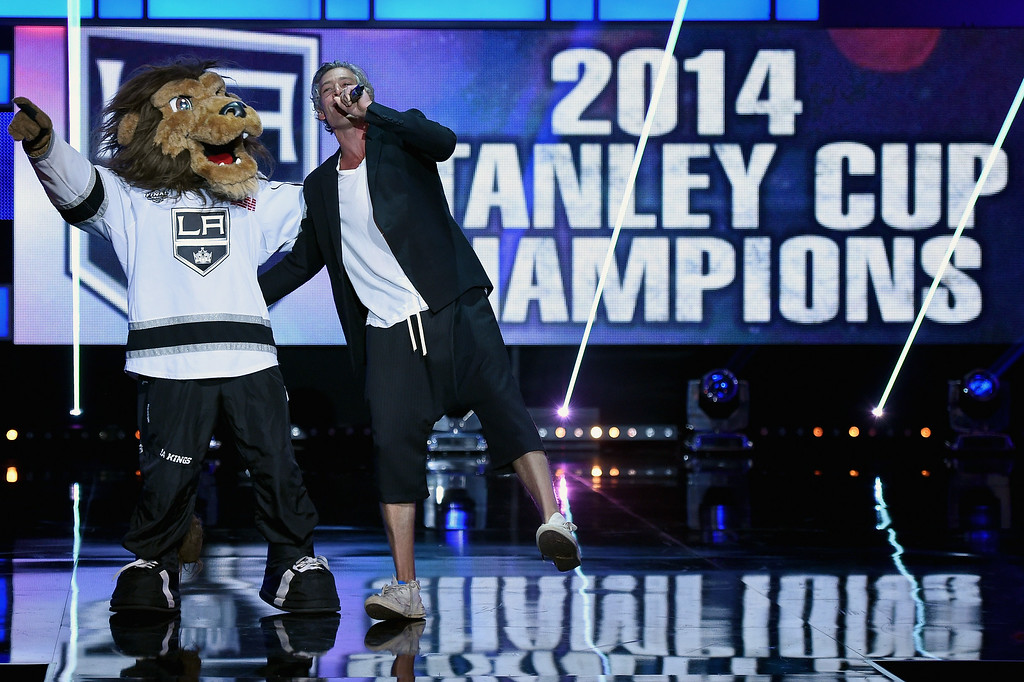 . Recording artist Matisyahu performs during the 2014 NHL Awards at the Encore Theater at Wynn Las Vegas on June 24, 2014 in Las Vegas, Nevada.  (Photo by Ethan Miller/Getty Images)