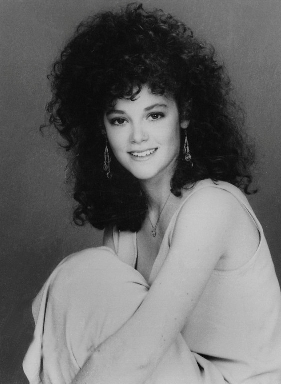 """. In this 1987 file image, Rebecca Schaeffer, who played Patti on CBS TV\'s \""""My Sister Sam,\"""" poses in a publicity photo. The model-actress was murdered on July 19, 1989, when an obsessed fan named Robert Bardo shot and killed her at the door of her Los Angeles apartment. Schaeffer\'s death prompted reforms that made stalking a crime, prevented the Department of Motor Vehicles from releasing home addresses, and the creation of a specialized police unit to protect celebrities and dignitaries. (AP Photo/CBS, file)"""