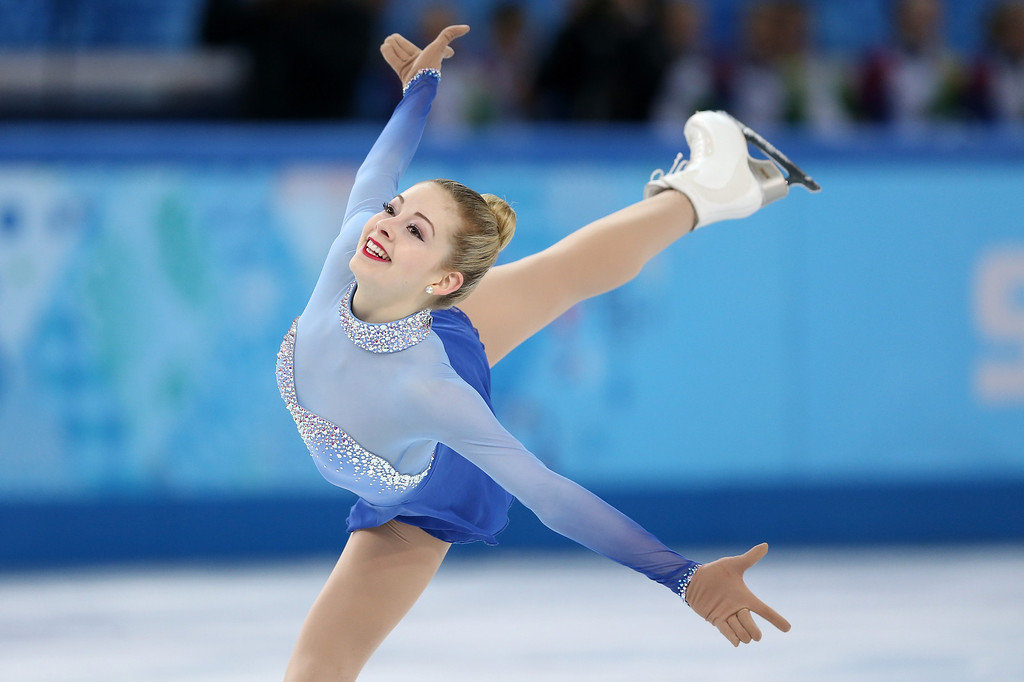 . Gracie Gold of the United States competes in the Figure Skating Ladies\' Free Skating on day 13 of the Sochi 2014 Winter Olympics at Iceberg Skating Palace on February 20, 2014 in Sochi, Russia.  (Photo by Matthew Stockman/Getty Images)