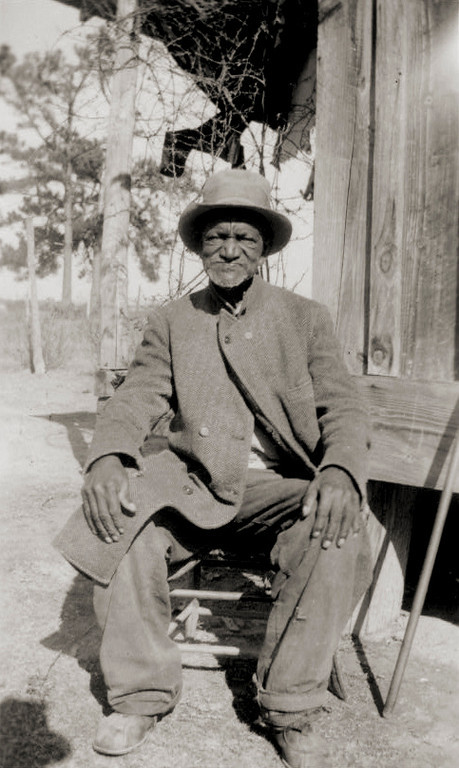 . Wes Brady, ex-slave, Marshall. 1937 Dec. 4. Library of Congress
