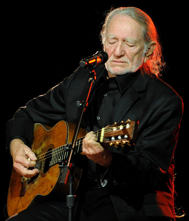 . Country music artist Willie Nelson performs on stage during the 57th Annual BMI Country Awards in Nashville, Tenn. Tuesday, Nov. 10, 2009.  (AP Photo/Peter Kramer)