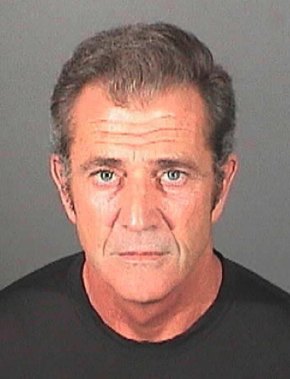 . This booking photo released on Thursday, March 17, 2011 by the El Segundo, Calif. Police Department shows actor Mel Gibson. Authorities said Gibson was booked and released on a misdemeanor battery charge as part of the criminal case involving his former girlfriend. Jail records show the actor-director turned himself in to the El Segundo Police Department Wednesday night, March 16, 2011, where he was fingerprinted and his mug shot was taken. (AP Photo/El Segundo Police Department)