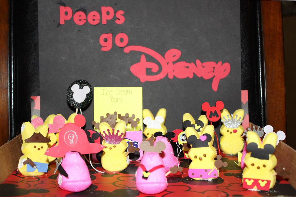 . Mackenzie Ellis 12,Kennedy Ellis 8, Peeps Go Disney