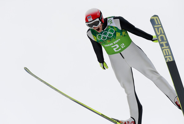 PHOTOS: Nordic Combined Gunderson team competition at Sochi 2014 Winter Olympics