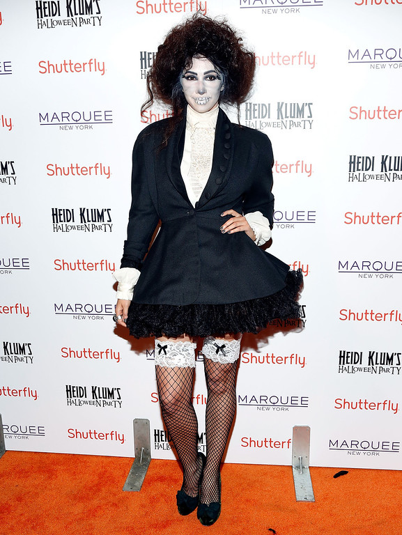 . Actress Jackie Cruz attends Shutterfly Presents Heidi Klum\'s 14th Annual Halloween Party sponsored by SVEDKA Vodka and smartwater at Marquee on October 31, 2013 in New York City.  (Photo by Cindy Ord/Getty Images for Heidi Klum)