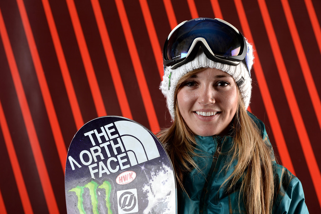 . Snowboarder Kaitlyn Farrington poses for a portrait during the USOC Media Summit ahead of the Sochi 2014 Winter Olympics on October 2, 2013 in Park City, Utah.  (Photo by Harry How/Getty Images)