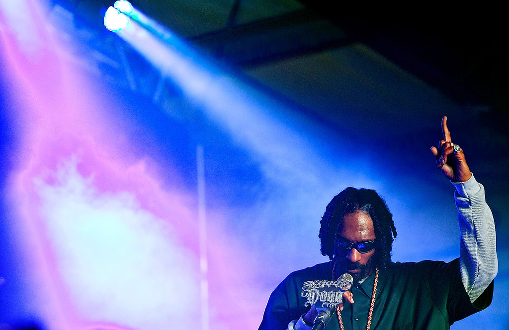. Snoop Lion, formerly Snoop Dogg, performs during Lion Fest held at Viceland during SXSW 2013 on Thursday, March 14, 2013 in Austin, Texas. (AP Photo/Austin American-Statesman, statesman.com, Rodolfo Gonzalez)
