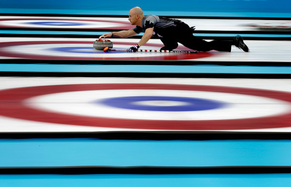 PHOTOS: Men's Curling Medal Rounds at 2014 Sochi Winter Olympics