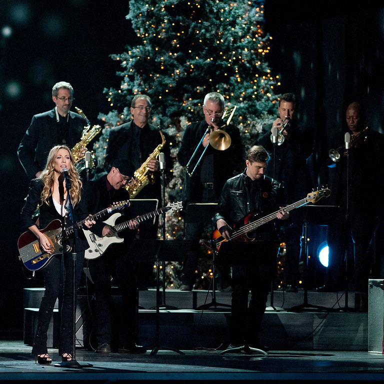 . Sheryl Crow performs during the CMA 2013 Country Christmas on November 8, 2013 in Nashville, Tennessee.  (Photo by Erika Goldring/Getty Images)