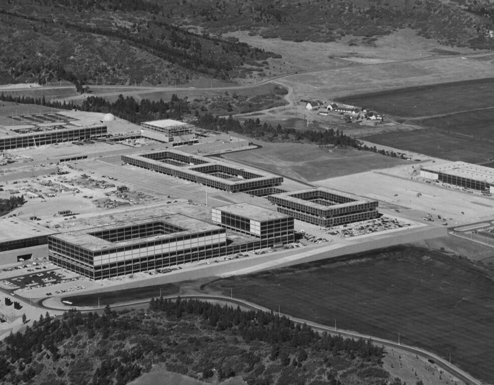 . U.S. Air Force Academy, 1958. The Denver Post Library Archive